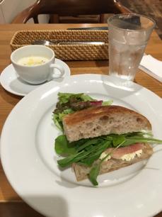 シャレおつ サンドイッチ