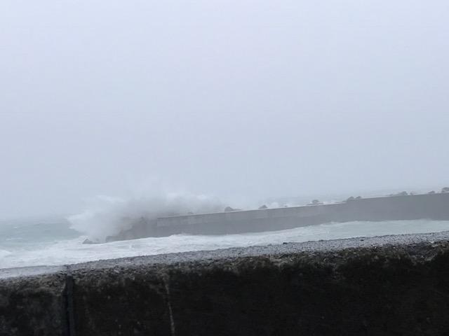 久しぶりの台風