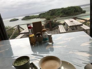 天気悪しの西表島